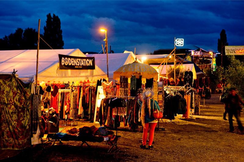 Basar auf dem Afrika Festival