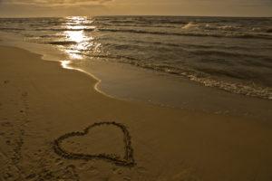 Strand Herz