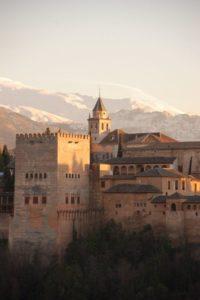 Alhambra, Granada, Andalusien, Spanien