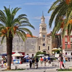 Altstadt von Split, Kroatien