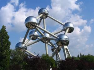 Atomium in Belgien