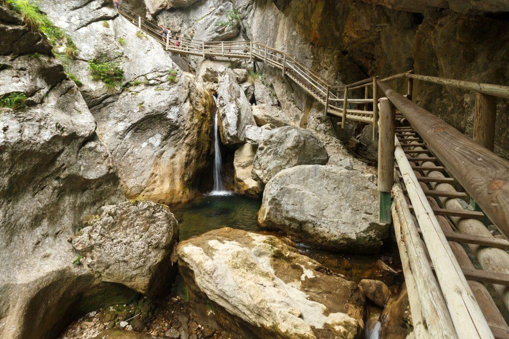 Bärenschützklamm Dolomiten