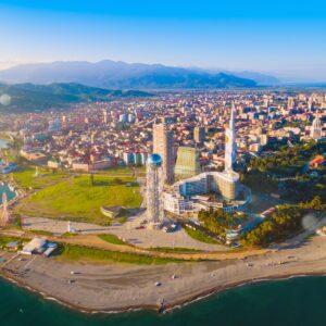 Batumi, das Las Vegas des Kaukasus