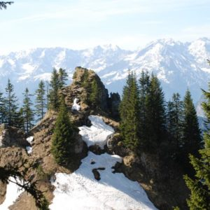 Bayrische Alpen, Bayern, Deutschland