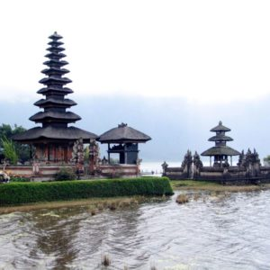 Bedugul Tempel, Bali, Indonesien