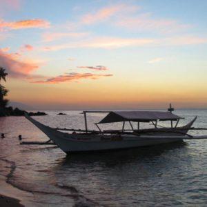Boot, Puerto Galera, Philippinen