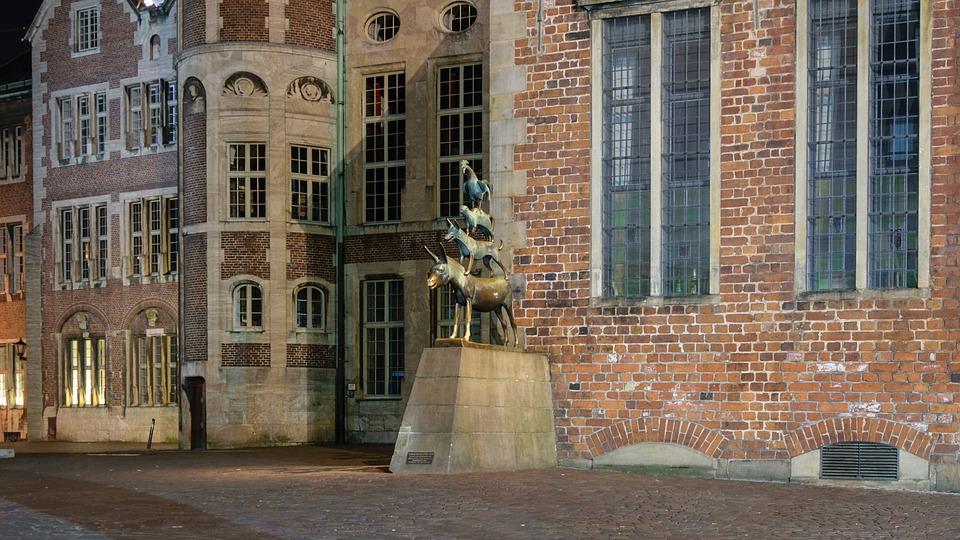 Statue Bremer Stadtmusikanten