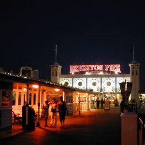 Brighton Pier, Brighton, England, Grossbritannien