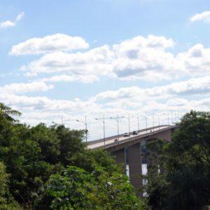 Brücke, Rio Paraguay, Paraguay