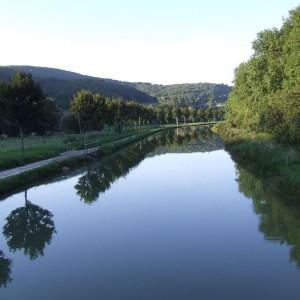 Canal de Bourgogne, Burgund, Frankreich