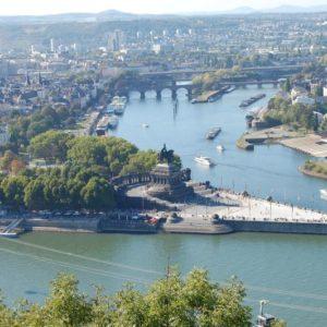 Deutsches Eck, Koblenz, Rheinland-Pfalz