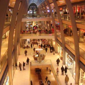 Einkaufszentrum, Hamburg, Deutschland
