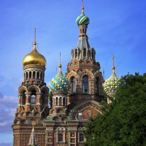Erlöserkirche, St. Petersburg, Russland