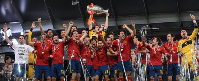 Europameister 2012 Spanien