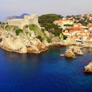 Festung, Dubrovnik, Kroatien