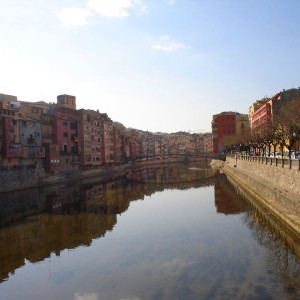 Fluss, Girona, Katalonien, Spanien