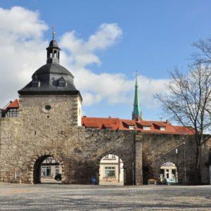 Frauentor, Mühlhausen, Thüringen, Deutschland