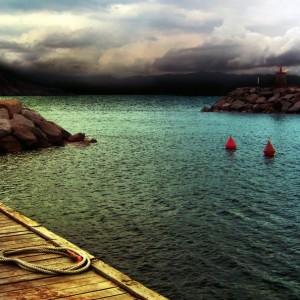 Hafen, Korsika, Frankreich