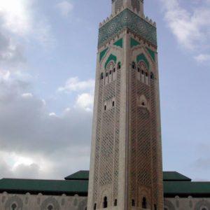Hassan II Moschee, Casablanca, Marokko