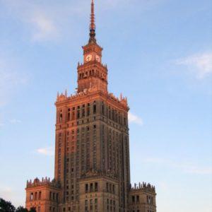 Hochhaus, Warschau, Polen