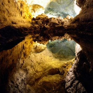 Höhle, Lanzarote, Kanaren
