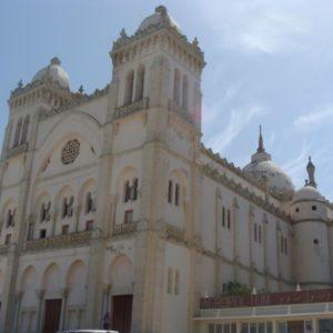 Kirche, Karthago, Tunesien