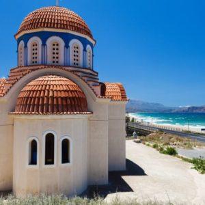 Kirche, Kreta, Griechenland