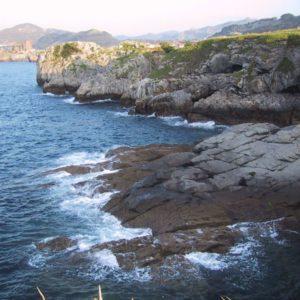 Küste, Casto Urdiales, Kantabrien, Spanien