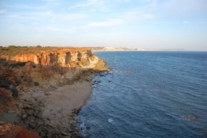 Küste, Conil, Spanien