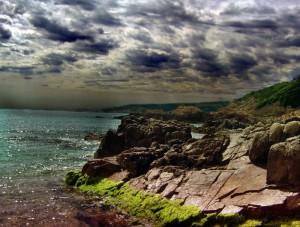 Küste, Korsika, Frankreich