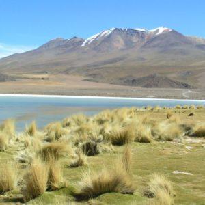 Küste, Salar de Uyuni, Bolivien