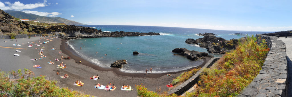 Strand auf La Palma, Kanaren