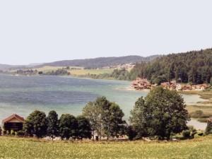 Lake St-Point, Franche-Comte, Frankreich