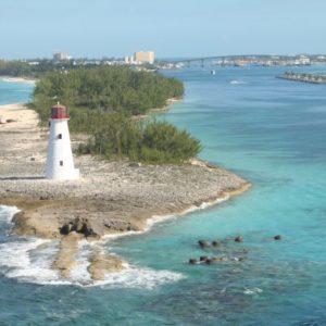 Leuchtturm, Nassau, Bahamas