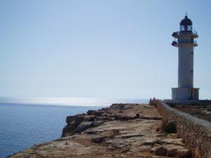 Leuchturm Far de la Mola, Formentera, Balearen