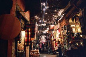 Markt, Marokko