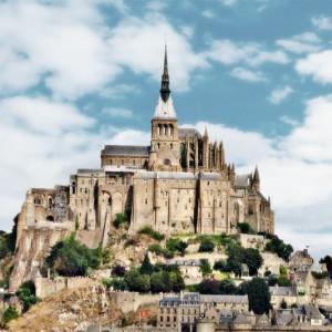 Mont Saint Michel, Frankreich