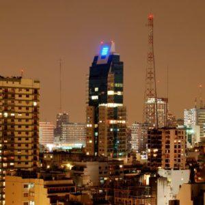 Nacht, Buenos Aires, Argentinien