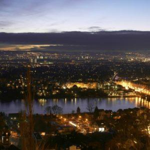 Dresden bei Nacht, Deutschland
