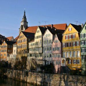 Neckar, Tübingen, Baden Württemberg
