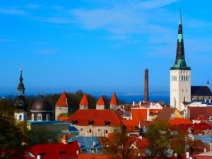 Türme in Tallinn, Estland