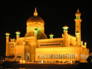 Omar Ali Saifuddin Moschee, Bandar Seri Begawan, Brunei Darussalam