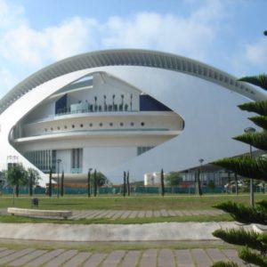 Palau de les Arts, Valencia, Spanien