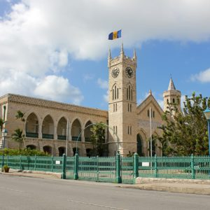 Das Parlament in Bridgetown