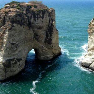 Pigeon Grotto, Beirut, Libanon