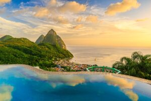 Pitons, St. Lucia