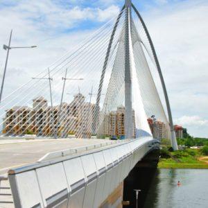 Putrajaya Bridge, Kuala Lumpur, Malaysia