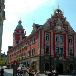 Rathaus, Gotha, Thüringen, Deutschland