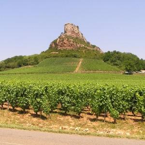 Roche de Solutré, Mâcon, Burgund