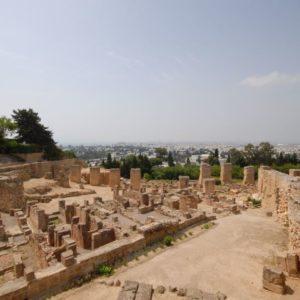 Ruinen, Karthago, Tunesien